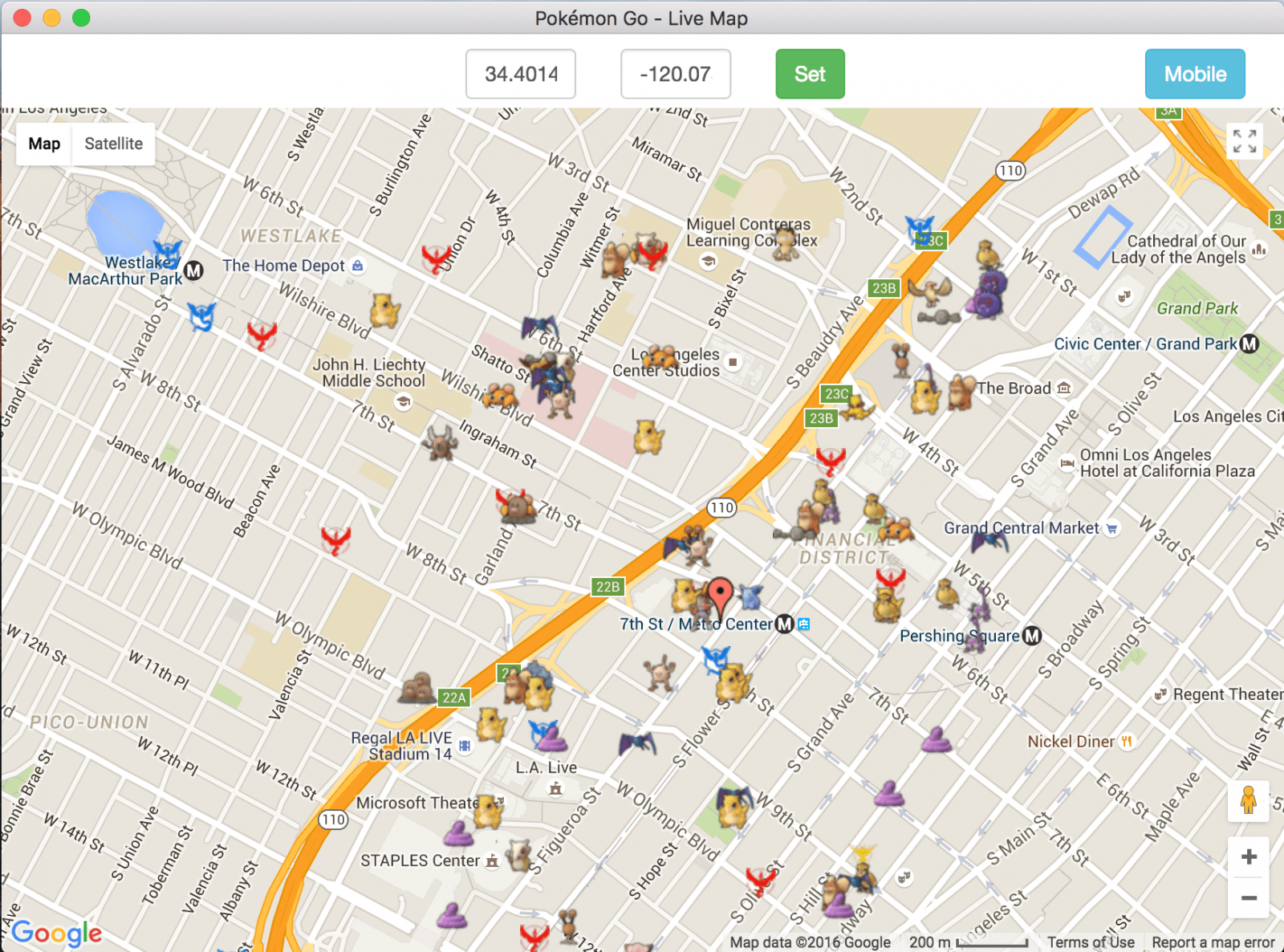 pokemongo desktop map  realsocialseo - pokemongo live map