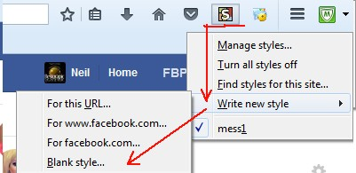 Facebook Messenger Filters