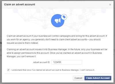facebook account id