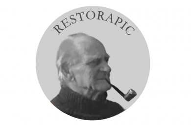 photo restoration logo